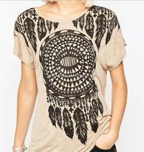Custom Design Fashion Sexy Women T-Shirts