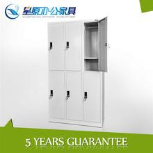 6person powder coated cold rolled steel closet lockers noble dorm furniture