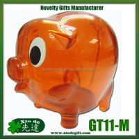 Plastic Piggy Coin Bank, Saving Bank, Piggy Bank, Money Box - Hucha - coin bank