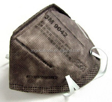 3M/FFP2 coal activated carbon folding mask with disposable dusk mask