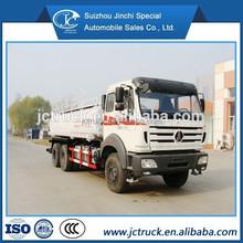 North Benz 6x4 20CBM water tank truck dimension