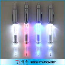 unique design light ball pen best gift led pen for kids