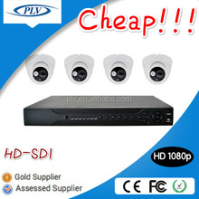 Best price 1080P 4ch HD-SDI internal cctv security camera dvr system for small shops