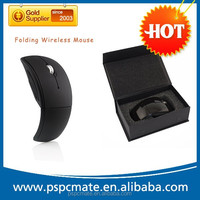 Foldable Fold 2.4 Ghz Wireless Arc Optical Mouse Mice USB Receiver for PC Laptop