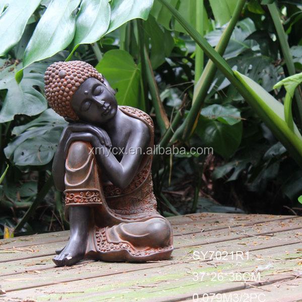 Superbe Artefacts Collection Shakyamuni Buddha Garden Statue For Sale