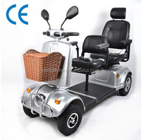 High quality electric double seat mobility scooter,made in China with CE passed