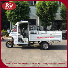Popular KAVAKI brand new design white open new passenger tricycle with cabin