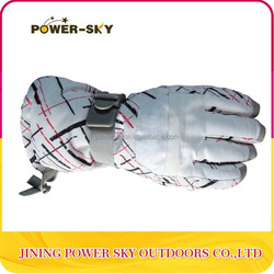 Nylon Woven Wholesale Custom Winter Ski Gloves