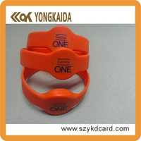 2015 Customized logo silicone bracelet with factory price in Guangdong