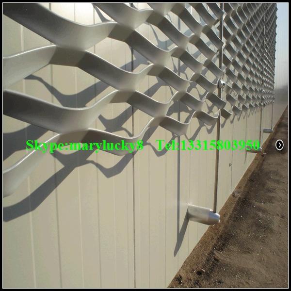 d coratif en aluminium expanded metal mesh panneaux muraux aluminium panneau de mur ext rieur. Black Bedroom Furniture Sets. Home Design Ideas