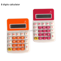 plastic mini pocket calculator for promotion