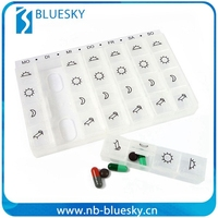 Factory sale various 28 day pill box
