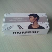 Folding Gift Box For Hair Extension Box ,Customized Hair Box With Printed Logo