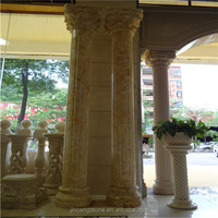 Manufacturers selling natural marble resin roman columns