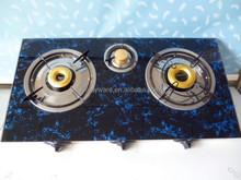3 burners gas stove /printing top/Indian burners