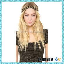 Hot selling daisy flower crown headband rhinestone headband