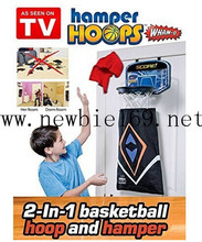 Wham-O Hamper Hoops Basketball Easy To Use As Seen On TV