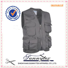 Clothing Products Mens Outdoor 100% Cotton Fishing Vest