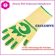 YIBOLI produce Top Quantity Professional Silicone Finger Protector Double Oven Mitt