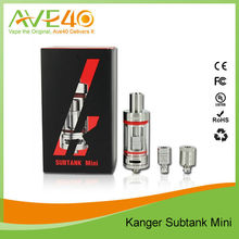Kanger newest arrival Subtank mini 4.5ml, fit for Istick 30W/50W and Smoktech M45/M65