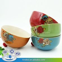 Custom Tag Full Color Ceramic Direct Price Ceramic Jewelry Bowl