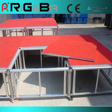 NEW Rigeba Stage Epuipment 1.22*1.22 Square Meter Kid-resistant Stage Board Moving Aluminum Alloy Stage
