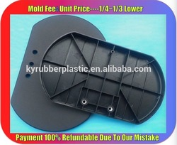 Custom Small Plastic Injection Parts / ODM Baby Car Seat Plastic Part / Injection Molded Plastic Spare Part