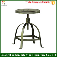 China furniture industrial metal bar chair outdoor