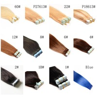"""100%Human Hair Double Tape Natural Straight 18""""Hair Extension In Stock"""