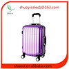 abs printed hard shell luggage ABS/PC trolley luggage