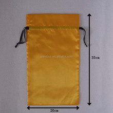 Chinese Quality custom satin bags hair extension bags