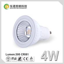 Hot Sale 4W LED Spotlight GU10 Bulb Dimmable LED Spot Light