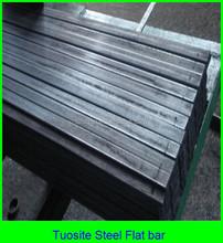 Astm a36 laminado en caliente de acero dulce barra plana y templado de acero barra plana tamaños