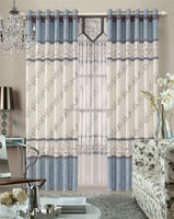 MEIJIA Customized Luxury Jacquard Curtain/luxury hotel curtains/lace curtains
