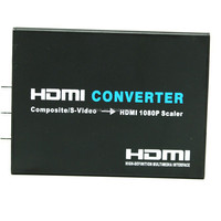 HD RCA AV to HDMI converter scale to 720P &1080P, Composite RCA and S-video with Audio to HDMI converter