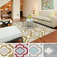 CHINA SUPPLIER of hot selling morrocan trellis microfiber carpet