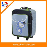 Cute kids trolley bag for ourdoor travel