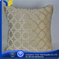 feather manufacter car seat hexagonal cushion