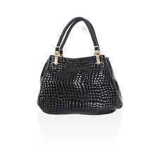 Black Summer Stone Elegant Handbag