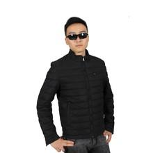 Black 1800k Cotton Padded Man Clothes Jackets Coat Wholesaler