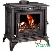 Multi-fuel cast iro stove(EN13240 certified)