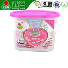 Globular Calcium Chloride Natural Safe Anti Moistur Box Dongguan Moisture Proof Agent