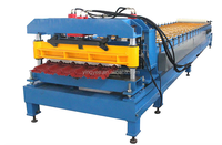2015 HOT glazed galvanized roofing sheet metal manufacturing machine for sale