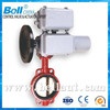 motorized center line wafer butterfly valve dn250