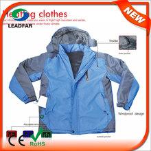 HJ08 7.4v Heated Fashion winter lady coat,winter coat for women