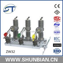 Zw32-24 630a 24kv outdoor electrical circuit breaker
