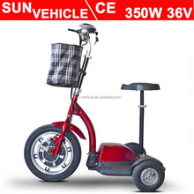 3 wheels scooters electric for old people