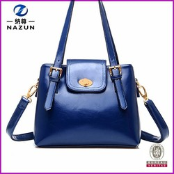 new stylish welcomed jewelry blue long strap crossbody bag ladies