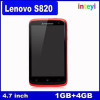China Lenovo Cellphone Lenovo S820 MTK6589 Quad Core 4.7 inch IPS Android Mobile RAM/ROM 1GB/4GB Smartphone Dual SIM GPS