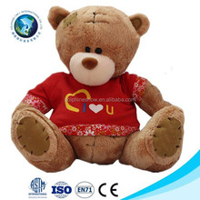 Hot selling valentine day and birthday gift soft plush animal toy teddy stuffed cute teddy bears